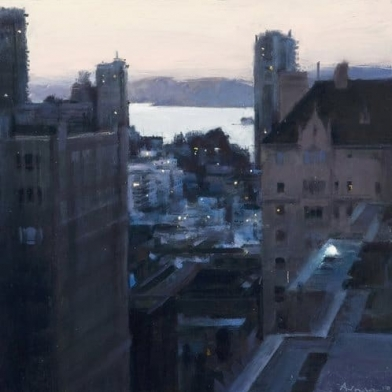 Ben Aronson Featured in Fine Art Connoisseur