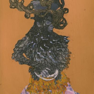 Kenyatta A. C. Hinkle Featured in Art Ltd. Magazine