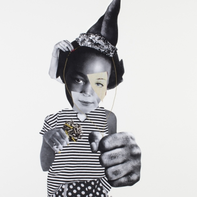 Deborah Roberts at EXPO Chicago Highlighted by The Art Newspaper