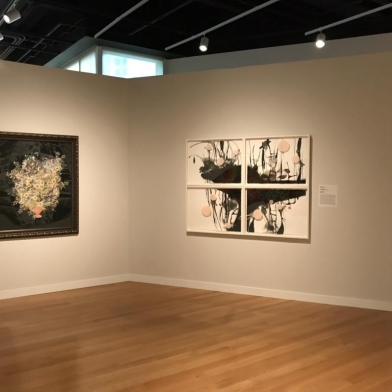 "Kirsten Stolle's work featured in ""Under Construction, Collage from the Mint Museum"" in Charlotte"