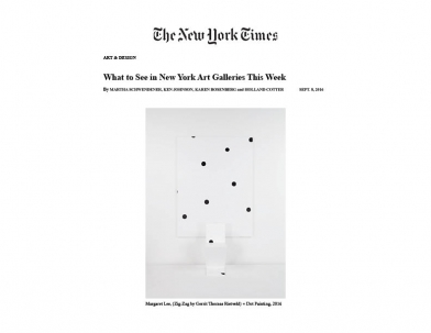 Margaret Lee in New York Times