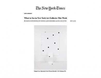 Margaret Lee in New York Times