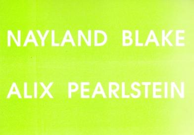 Nayland Blake and Alix Pearlstein