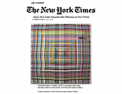 Roberta Smith for New York Times