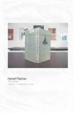 Harrell Fletcher