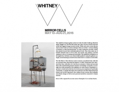 Elizabeth Jaeger in Whitney's Mirror Cells
