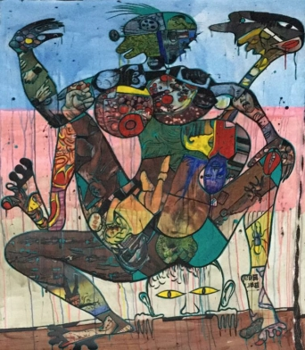 Blessing Ngobeni sells above estimate at MOCAA Auction