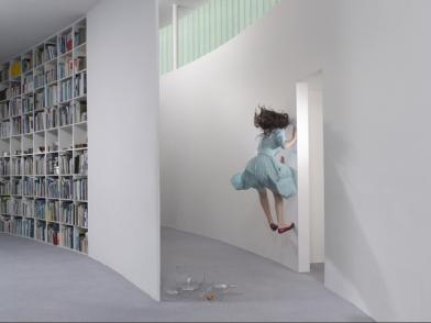 Julia Fullerton-Batten, Hallway, 2008, c-print, 40 x 54 inches