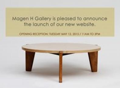 MAGEN H GALLERY'S WEBSITE LAUNCH