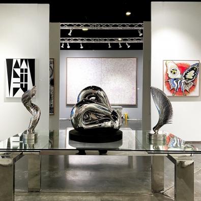Manolis Projects at Art Palm Beach 2020 Entrance