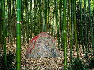 """Lita Albuquerque's """"Red Earth"""" at the Huntington Gardens"""
