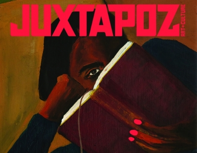 Danielle Mckinney featured on cover of Juxtapoz and interviewed by Kristin Farr