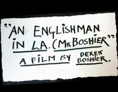 Derek Boshier Wins Best Music Video (Gold Award) at Hollywood Forever Film Festival
