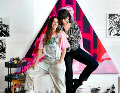 Mira Dancy and Davida Nemeroff Featured in Galerie Magazine's July 2020 Issue