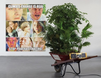 """Christine Wang, """"Climate Change is Real. Stop Procrastinating!"""" Duo Exhibition with Mark Dion at Nagel Draxler Munich"""