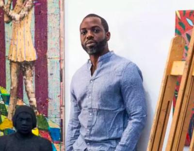Derek Fordjour Named 2018 NYSCA/NYFA Artist Fellow
