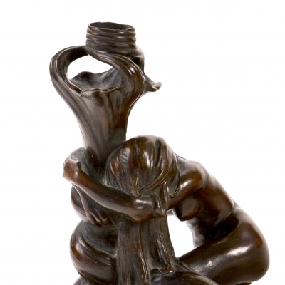 Figural Candlestick