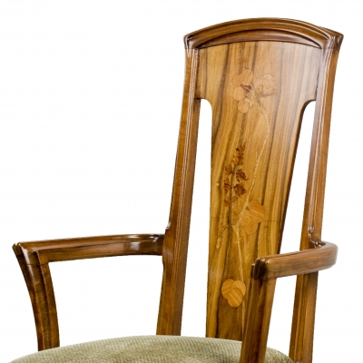 Art Nouveau Arm Chair