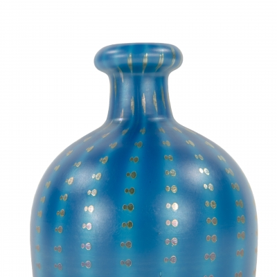 Zipper Decorated Vase