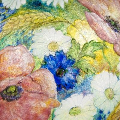 All Over Floral Vase