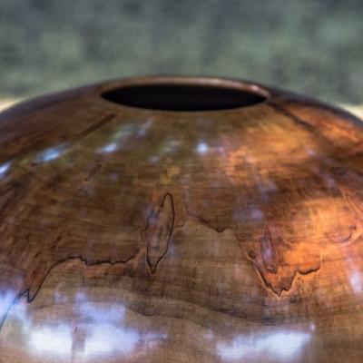 Red Leopard Maple Vase