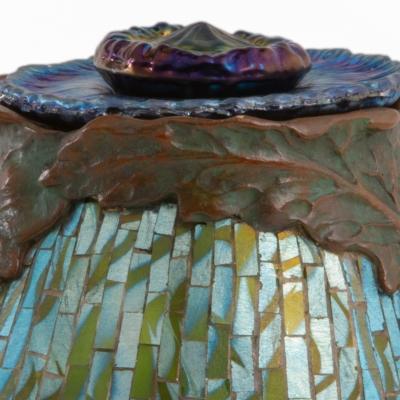 Poppy Mosaic Inkwell