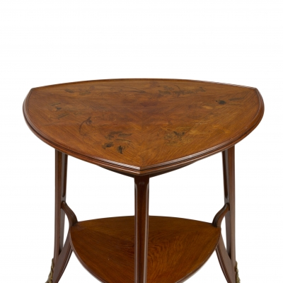 Art Nouveau Two-Tiered Occasional Table
