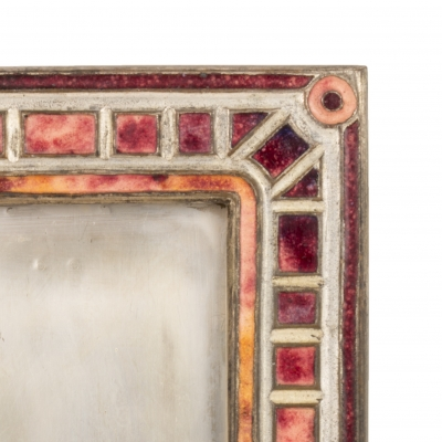 """Art Deco"" Pattern Picture Frame"