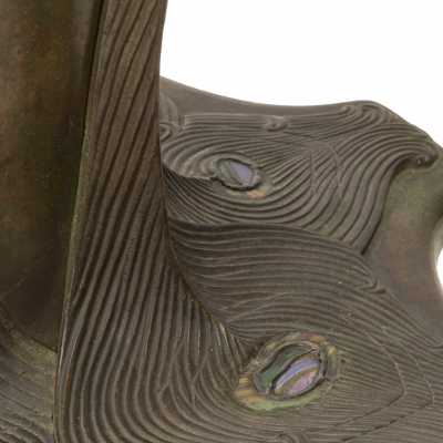 Peacock Table Lamp Base