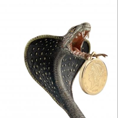 King Cobra Pocket Watch Holder