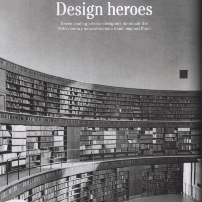 Christies Magazine Design Heroes
