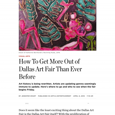 D Magazine: How To Get More Out of Dallas Art Fair Than Ever Before