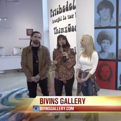 Good Morning Texas: Go back in time to 1969 at an exhibit at Bivins Gallery