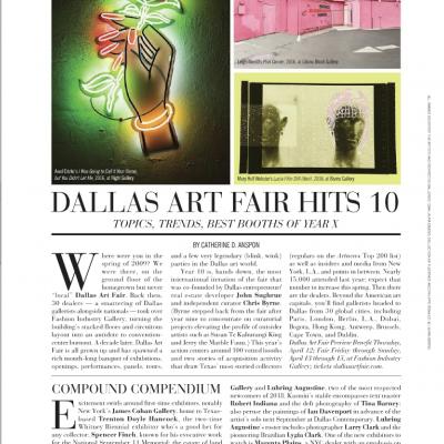 Paper City: Dallas Art Fair Hits 10