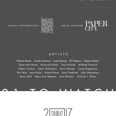 21 to Watch [Exhibition Invitation]