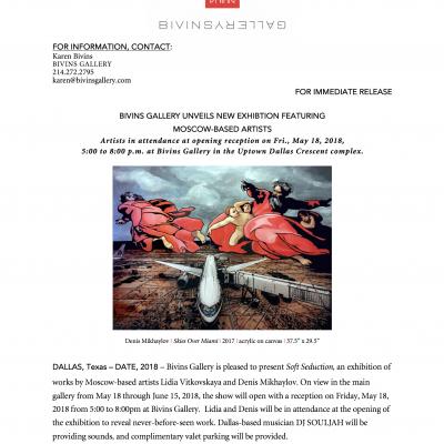 Press release: Soft Seduction
