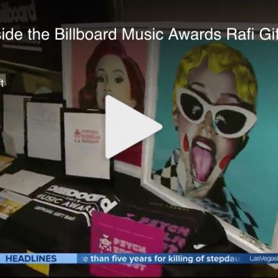 Las Vegas NOW: A look inside the Billboard Music Awards Rafi Gifting Lounge