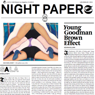 Night Papers VIII