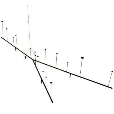 Harry Bertoia Kinetic Wire Form Sculpture