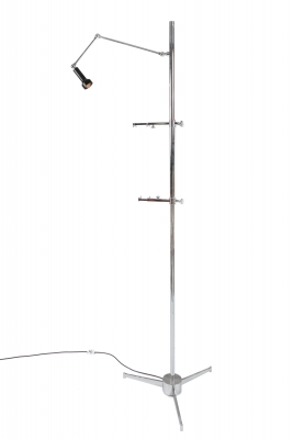 Easel Floor Lamp in the Style of Arredoluce