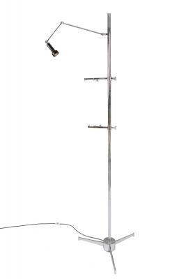 Easel Floor Lamp in the Style of Arredoluce