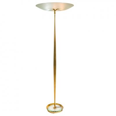 Max Ingrand Standard Lamp Model 1692 for Fontana Arte, Italy, 1959