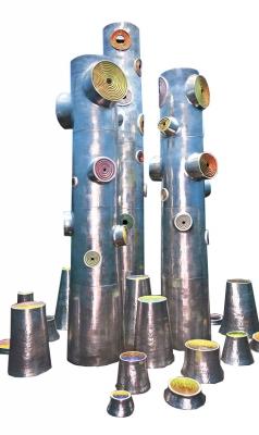 """Magic Wood"" Ceramic Sculptures by Fausto Salvi"