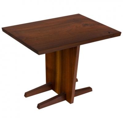 George Nakashima Walnut Side Table
