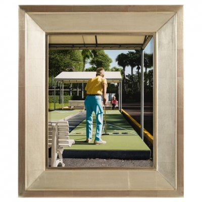 """""""Shuffleboard"""" Oil on Panel Painting by Max Ferguson"""
