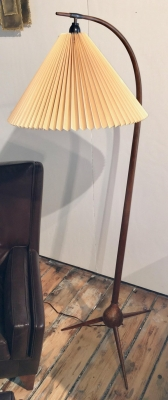 "Scandinavian Modern ""Bridge"" Floor Lamp by Severin Hansen Jr"