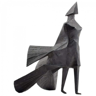 "Lynn Chadwick ""Walking Woman"" Maquette IV"
