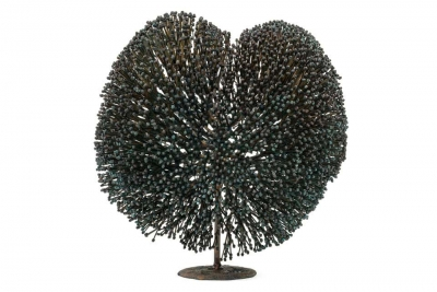 Harry Bertoia Bronze Bush Sculpture