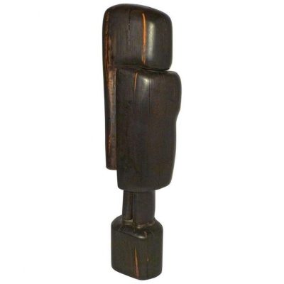 "Ebony ""Affiniti"" Sculpture by Gino Cosentino"