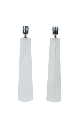 Murano Glass Table Lamps, Italy